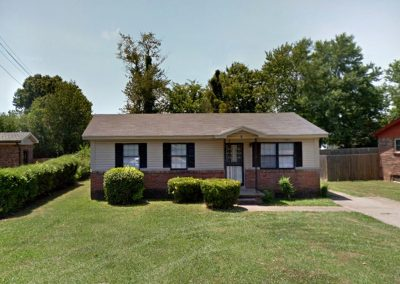 3 Bedroom Home in Jackson, TN: Online Auction Ends Oct 17