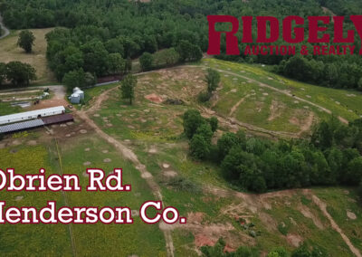 Online Only Ends June 23 @ 7:00pm: 449+/- Acres in Henderson Co.